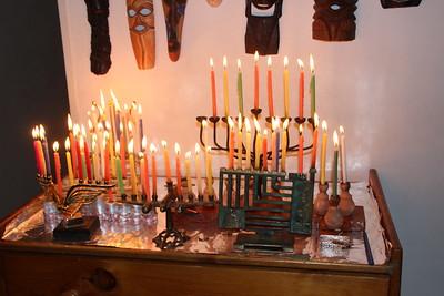 Channuka candle lighting 18.12.2017