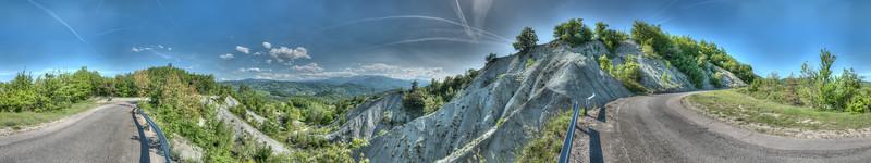 Badlands - Carpineti, Reggio Emilia, Italy - May 10, 2015