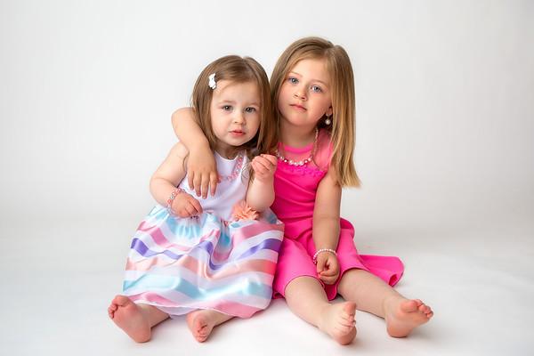 CHILD MINI SESSIONS-Amelia and Fiona [For Kate]