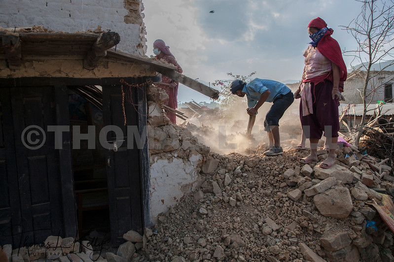 Massive Earthquake Rattled Nepal