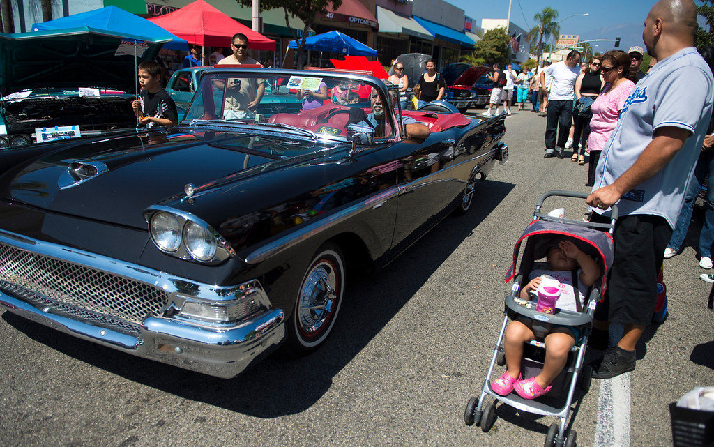""". IDB-L-DBROUTE66-SAT-019 \"""" Route 66 Cruisin� Reunion\"""", on Saturday, September 21, 2013. (photos by Frank Perez for the Daily Bulletin)"""