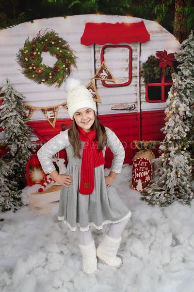 Miss Madeline | Christmas Mini