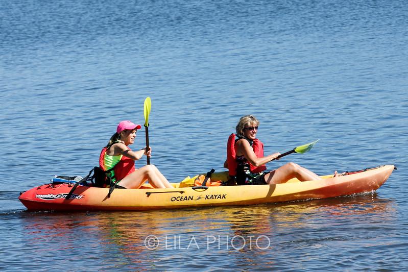 Kayaking and Golf