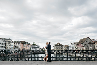 Anna + Marcel in Zurich