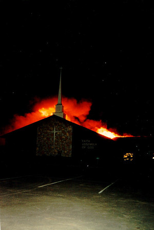 Faith Assembly of God Structure Fire