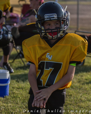Bantam Blazers - Hanford Youth Football Carnival - 8-22-15