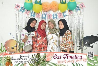 17th Birthday Party Ozi Amaliaa Photobooth Gallery