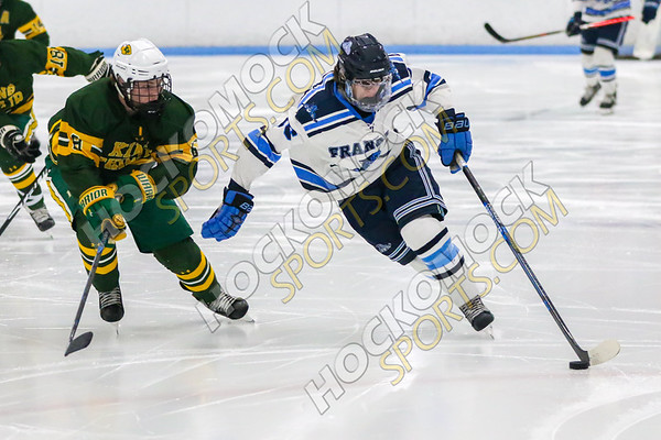 Franklin-King Philip Boys Hockey - 01-29-20