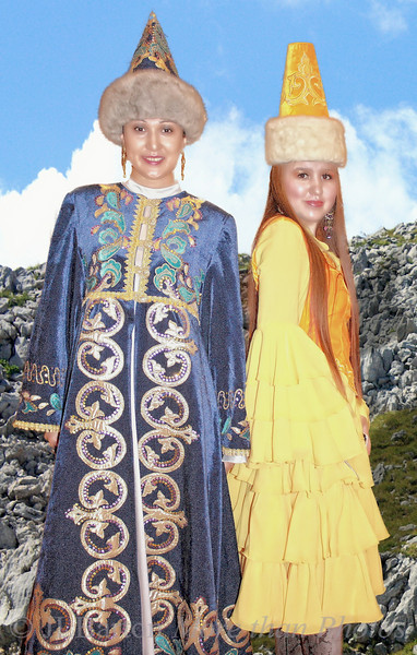 Young women from Khazakstan
