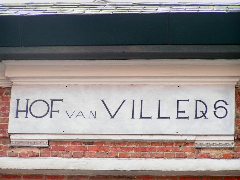"""Detail: """"Het Hof van Villers"""""""