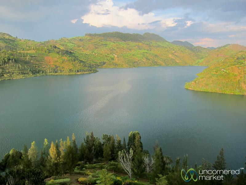 Lake Kivu in Late Afternoon Light - Kibuye, Rwanda