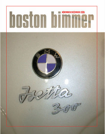 Boston Chapter newsletter, November-December, 2005
