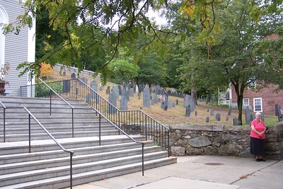 9/20/16 Concord, MA cem. and Alcott home