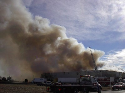 Aurora 3rd Alarm Warehouse Fire