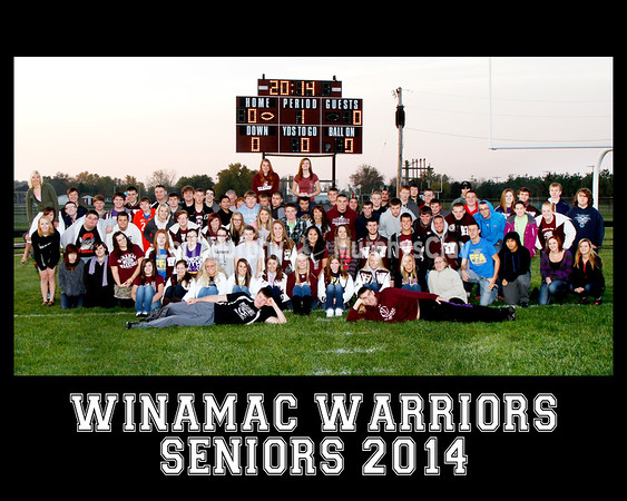 Winamac Seniors 2014