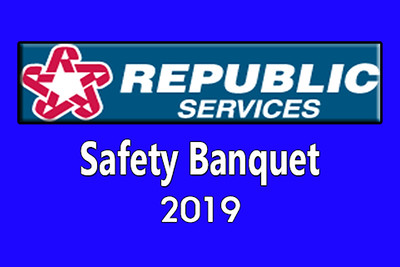 2019-04-06 Republic Services Safety Banquet
