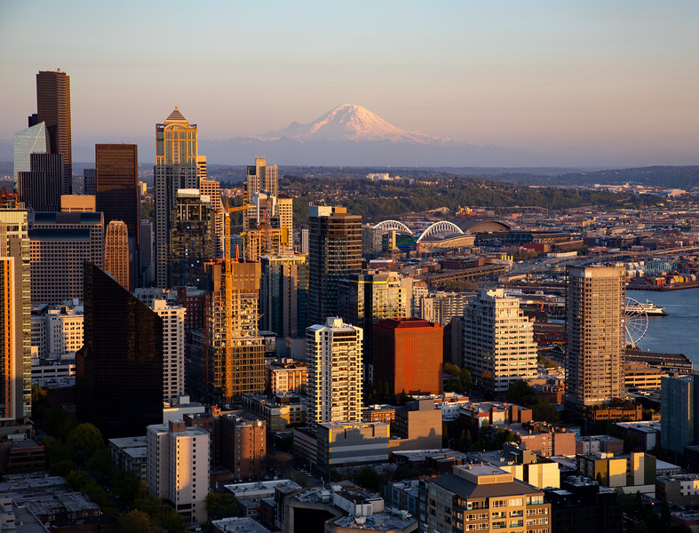 Seattle Skyline from the Space Needle