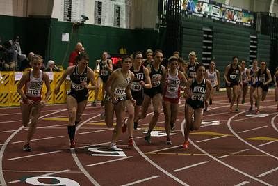 Women's 5000 Meters - 2013 MAC Indoor Meet