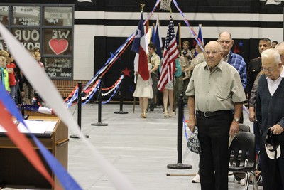 HHS NHS Veterans Day Program, 11/11/2015