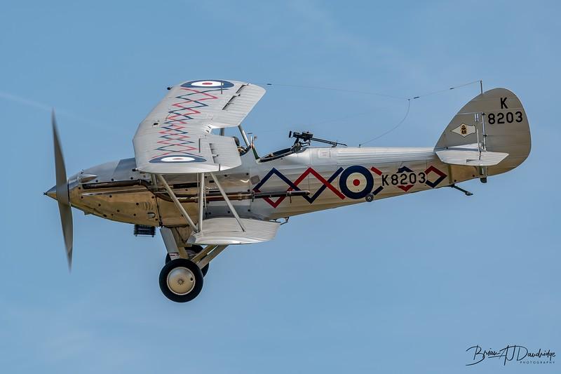 1937 Hawker Demon - Shuttleworth Collection