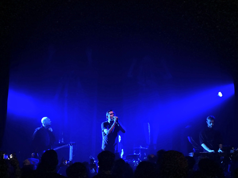 Rocking out to Twilight Sad at Lincoln Hall in Chicago.