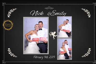 Nicky & Emily's Wedding 9th Feb 19