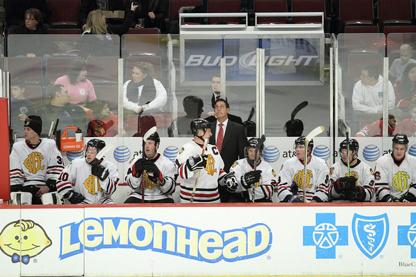CFD vs CPD Hockey Game United Center December 4, 2011