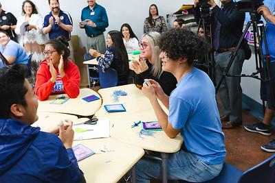 Socorro Middle School Best in Education Surprise