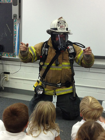 First Grade Fire Marshall Visit