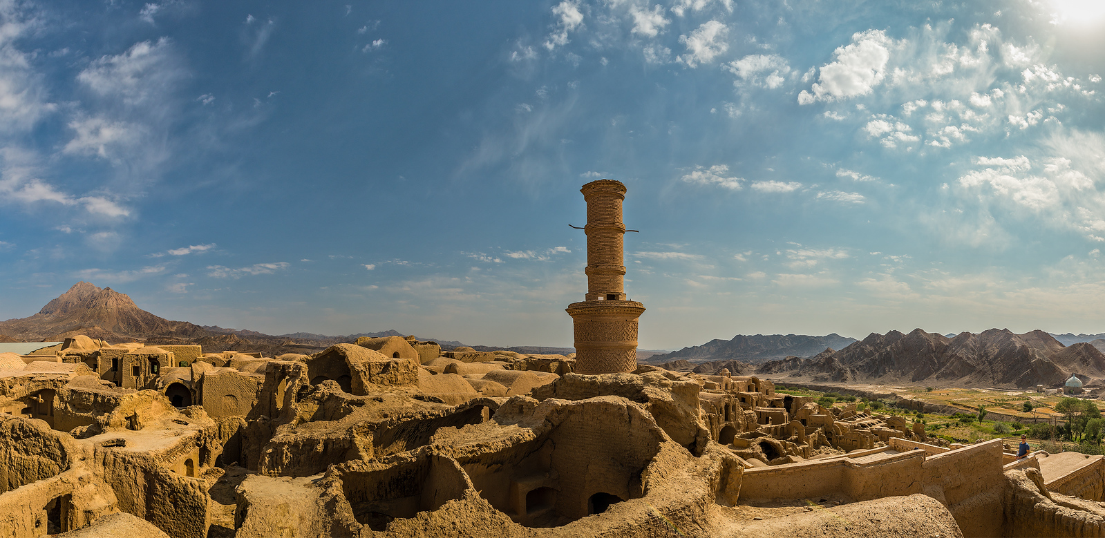yazd abandoned town