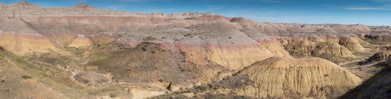 Yellow Mounds Badlands National Park