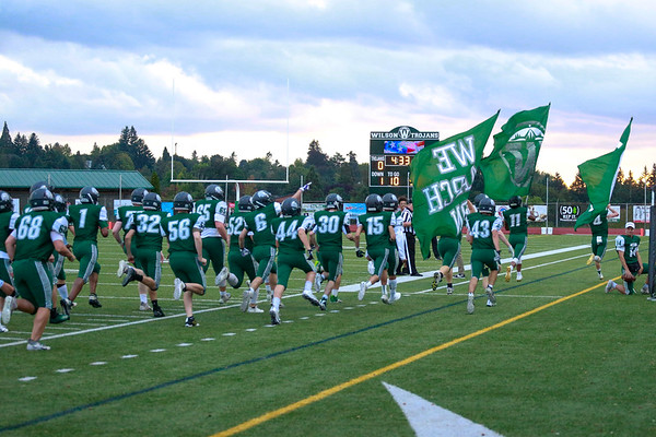 2019 Wilson HS vs Forest Grove Varsity Football