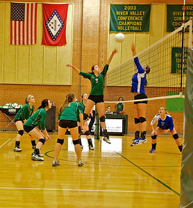 Chaffin vs Ramsey Volleyball 9-19-2011