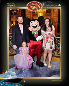 Tom, Zahra, Ava & Josie do a Disney Cruise