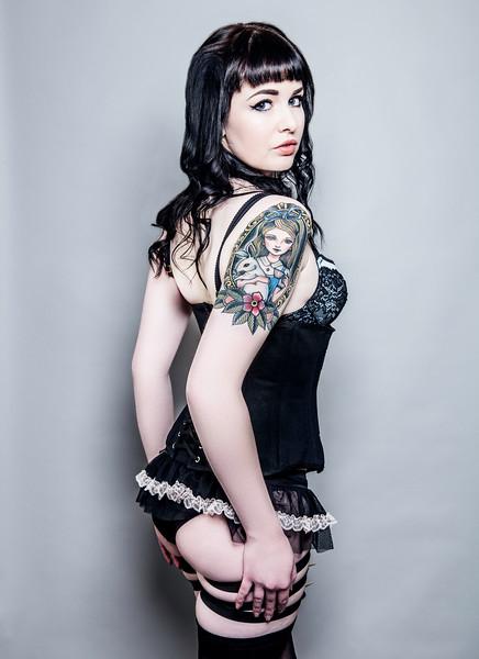 Vanessa Kelly Burlesque Shoot