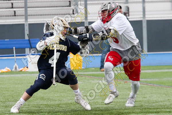 Foxboro-Catholic Memorial Boys Lacrosse - 04-22-17