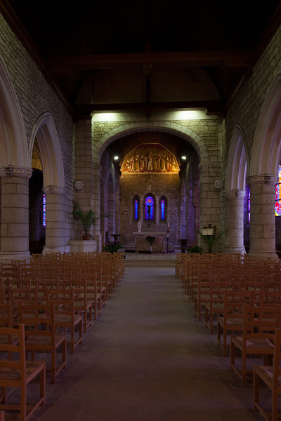 Beuzeville, Saint-Hilaire Nave and Choir