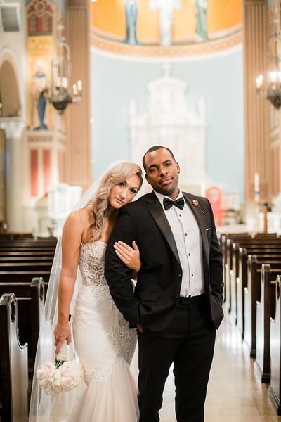 Santa Monica Catholic Church Wedding | Melanee and Kaedi
