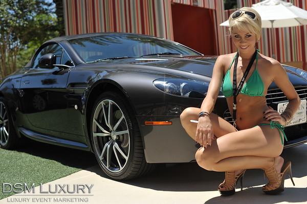 DSM Luxury Auto Fashion at Red Rock Casino Pool Las Vegas