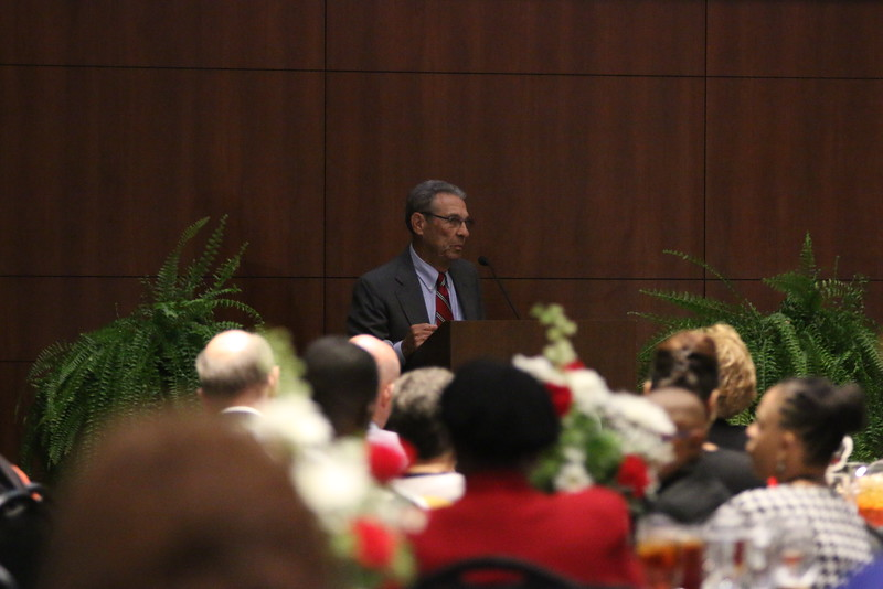 On Friday night, many previous GWU athletes, faculty, and family members came out to watch six GWU alumni be inducted into the Hall of Fame.