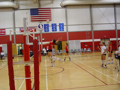 Girls Varsity Volleyball  - 2005-2006 - 1/12/2206 vs. Big Rapids