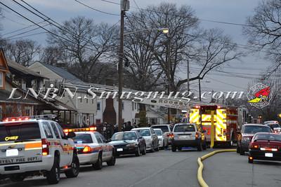 Roosevelt F.D. 2nd Alarm 71 W. Fulton Ave. 1-14-12