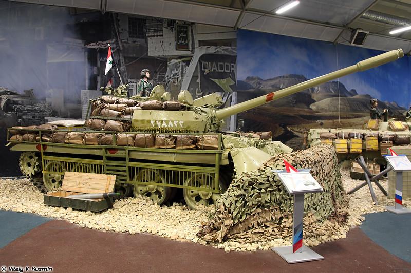 Т-55АМ (T-55AM tank)