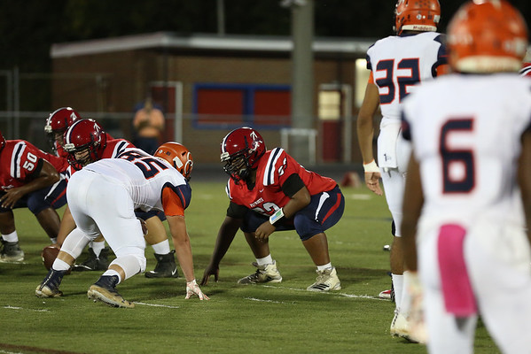 Albemarle versus Orange football 2018