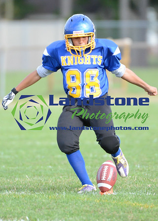 Delmar Middle School Football vs Georgetown