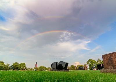 8/1/17 Rainbow - Cemetery
