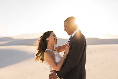 White Sands National Monument Epic Engagement Session