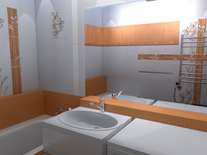 koupelna - pohled na umyvadlo pracku zrcadlo.jpg