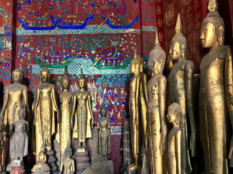 Inside Wat Xieng Thong - Luang Prabang, Laos