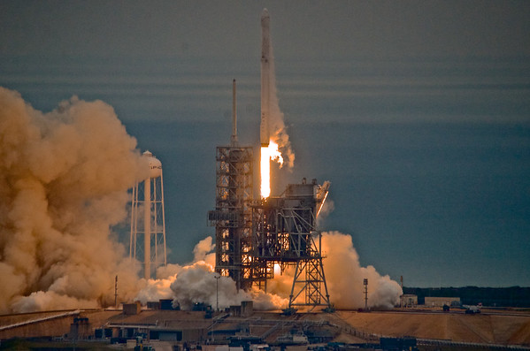 SpaceX CRS-10 Launch from LP-39A Kennedy Space Center